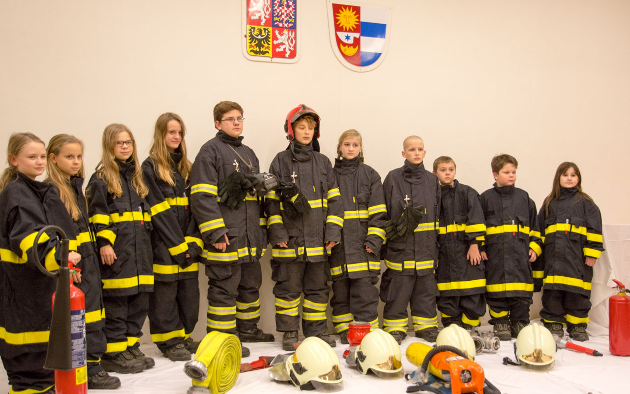 Činnost mladých hasičů